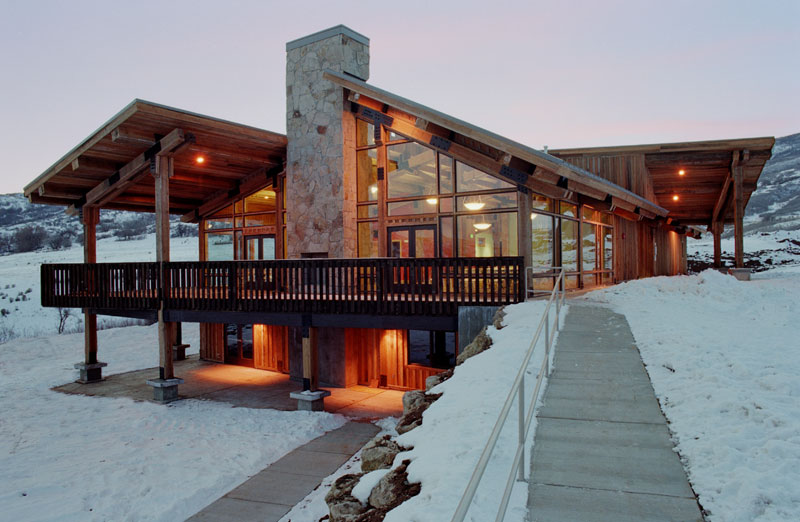 Soldier Hollow Day Lodge Design Sequence